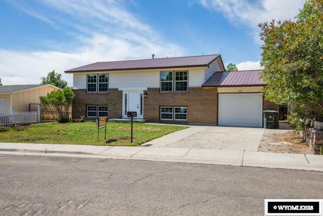 250 Elm Street, Green River, WY 82935 (MLS #20183917) :: Lisa Burridge & Associates Real Estate