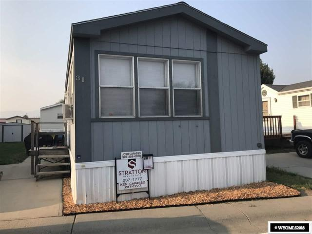 350 N Forest #31, Casper, WY 82609 (MLS #20184739) :: RE/MAX The Group
