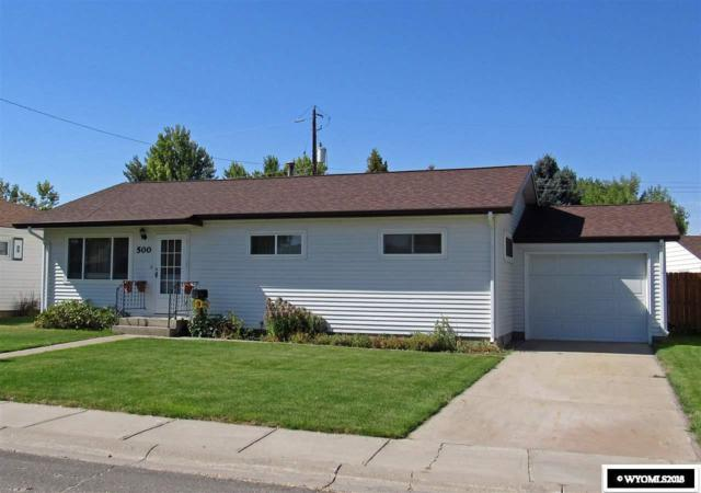 500 S 18th Street, Worland, WY 82401 (MLS #20185497) :: RE/MAX The Group