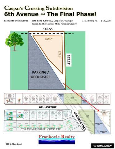 813 & 825 6th Avenue, Mills, WY 82644 (MLS #20190298) :: Lisa Burridge & Associates Real Estate
