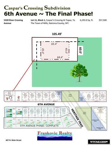 5310 River Crossing Avenue, Mills, WY 82644 (MLS #20190303) :: Lisa Burridge & Associates Real Estate