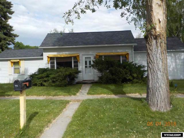 243 N Carrington Avenue, Buffalo, WY 82834 (MLS #20190372) :: Lisa Burridge & Associates Real Estate