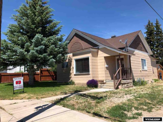 313 Emerald, Kemmerer, WY 83101 (MLS #20190380) :: Real Estate Leaders