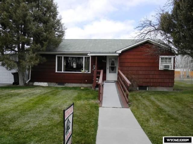 608 E Spencer Street, Riverton, WY 82501 (MLS #20191554) :: Lisa Burridge & Associates Real Estate
