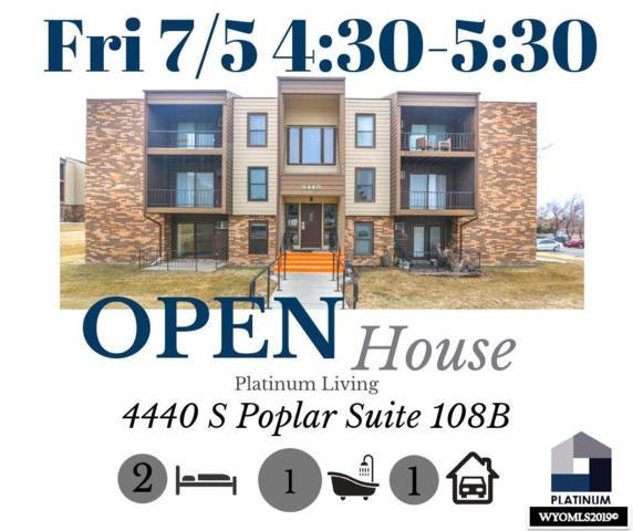 4440 S Poplar St, #108-B, Casper, WY 82604 (MLS #20191598) :: Real Estate Leaders