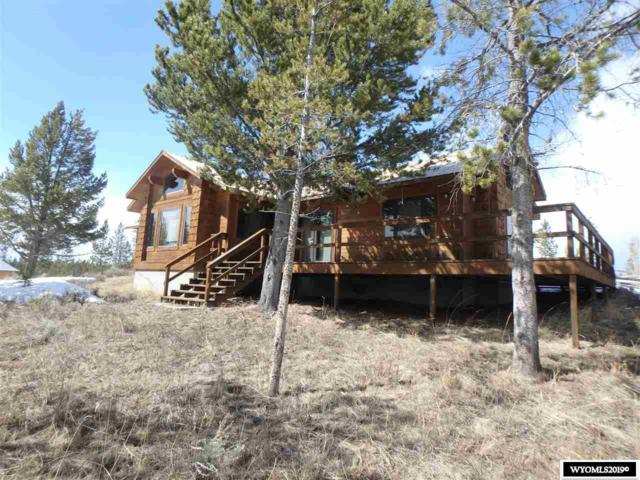 16 Spruce Ct Court, Dubois, WY 82513 (MLS #20193821) :: Real Estate Leaders