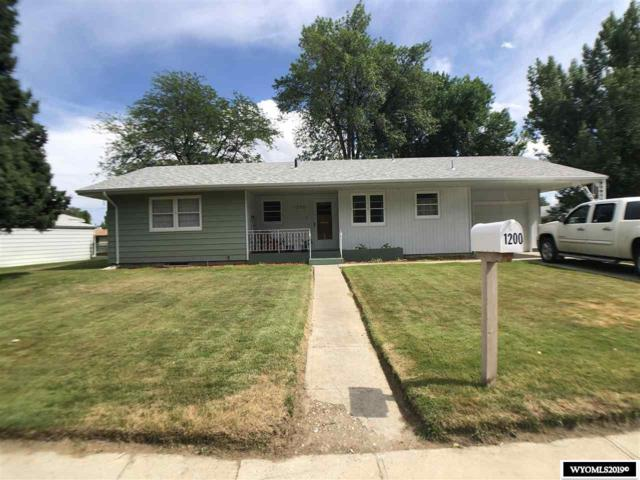 1200 Circle, Worland, WY 82401 (MLS #20194032) :: RE/MAX The Group