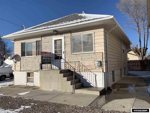114 Sheridan Street, Rock Springs, WY 82901 (MLS #20195480) :: Lisa Burridge & Associates Real Estate