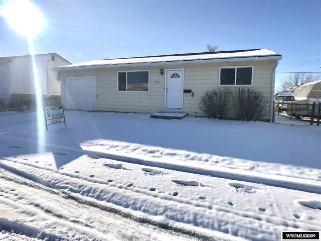 428 Big Horn, Evansville, WY 82636 (MLS #20196434) :: RE/MAX The Group