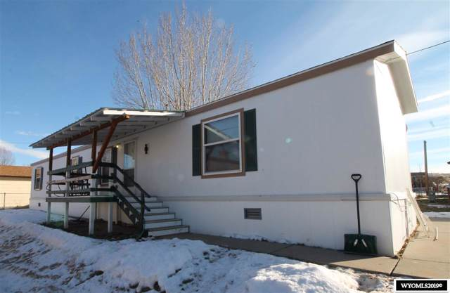 218 E Warren, Thermopolis, WY 82443 (MLS #20196798) :: RE/MAX The Group