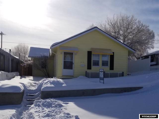 316 E Pine Street, Rawlins, WY 82301 (MLS #20196931) :: Real Estate Leaders