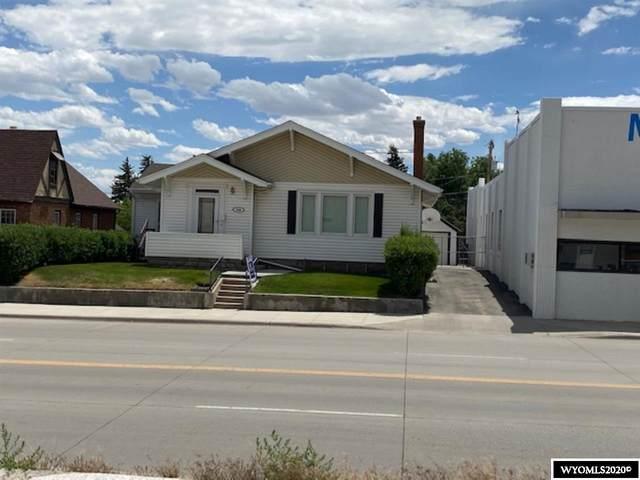 618 W Spruce Street, Rawlins, WY 82301 (MLS #20200513) :: Real Estate Leaders