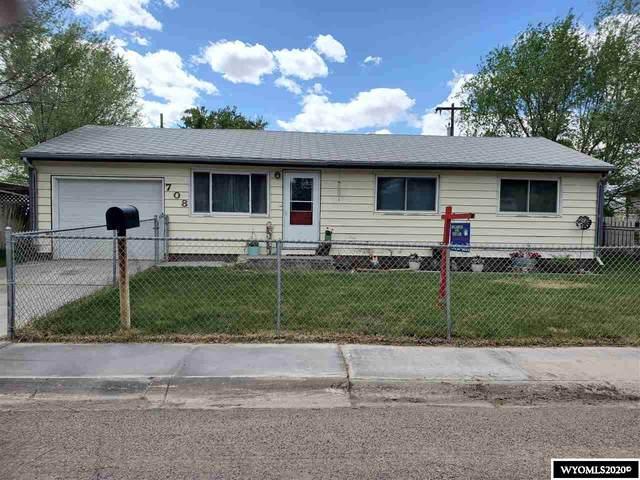 708 S 4th Street, Worland, WY 82401 (MLS #20201407) :: Lisa Burridge & Associates Real Estate