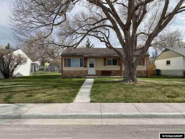 218 E State Street, Rawlins, WY 82301 (MLS #20202285) :: Lisa Burridge & Associates Real Estate