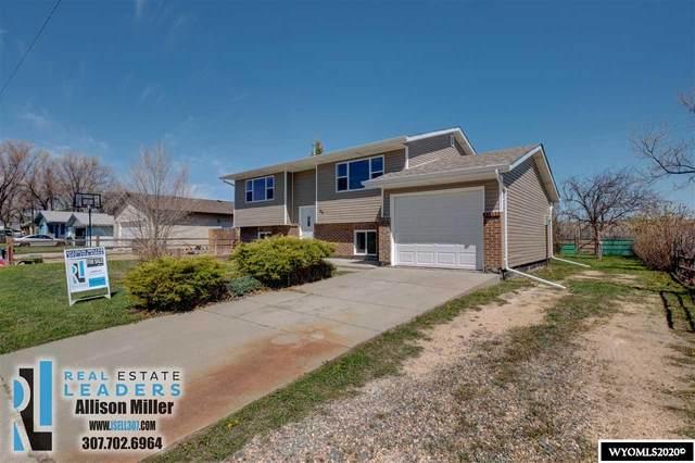 146 Fort Laramie, Glenrock, WY 82637 (MLS #20202317) :: Lisa Burridge & Associates Real Estate