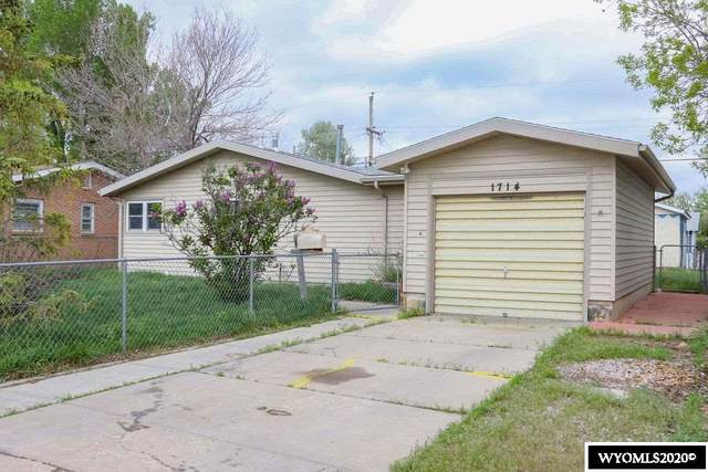 1714 Custer Avenue, Casper, WY 82604 (MLS #20202583) :: Real Estate Leaders