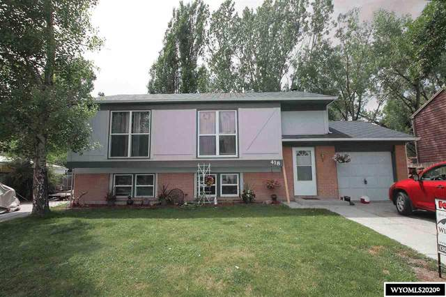 418 Pinnacle Drive, Riverton, WY 82501 (MLS #20203107) :: RE/MAX The Group