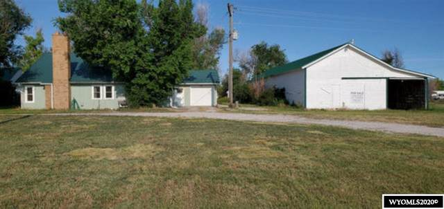 108 West 2nd Avenue, Yoder, WY 82244 (MLS #20203638) :: Real Estate Leaders