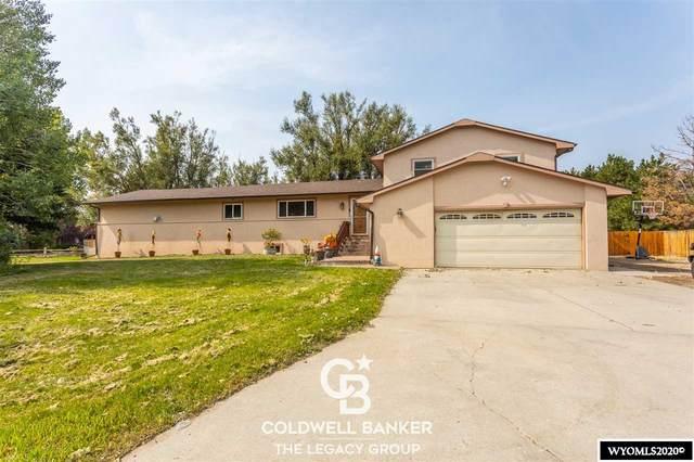 1892 Yellow Creek, Casper, WY 82604 (MLS #20205386) :: Real Estate Leaders