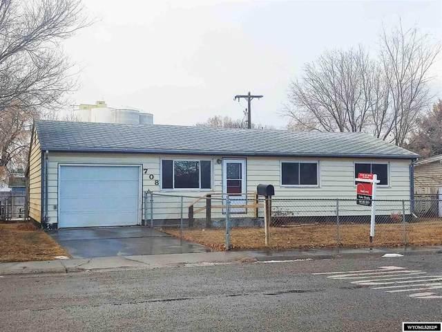 708 S 4th Street, Worland, WY 82401 (MLS #20210221) :: Lisa Burridge & Associates Real Estate