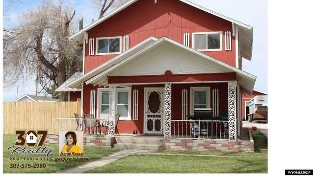 110 N Brooke Avenue, Fort Laramie, WY 82212 (MLS #20211726) :: RE/MAX Horizon Realty