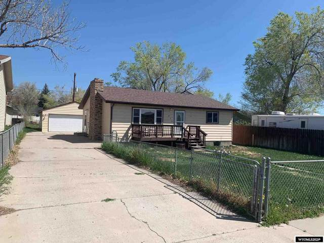 820 Richards Street, Thermopolis, WY 82443 (MLS #20212564) :: Broker One Real Estate