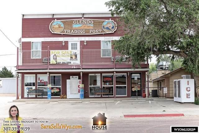 115 S Yellowstone Highway, Glendo, WY 82213 (MLS #20214165) :: RE/MAX Horizon Realty