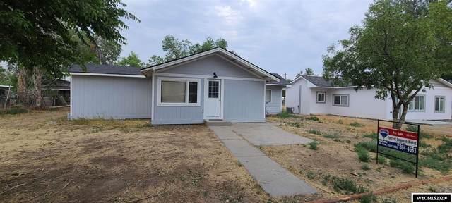 132 Clark, Thermopolis, WY 82443 (MLS #20214327) :: Lisa Burridge & Associates Real Estate