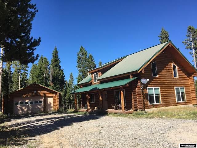 24 Crooked Creek Road, Dubois, WY 82513 (MLS #20215137) :: Real Estate Leaders