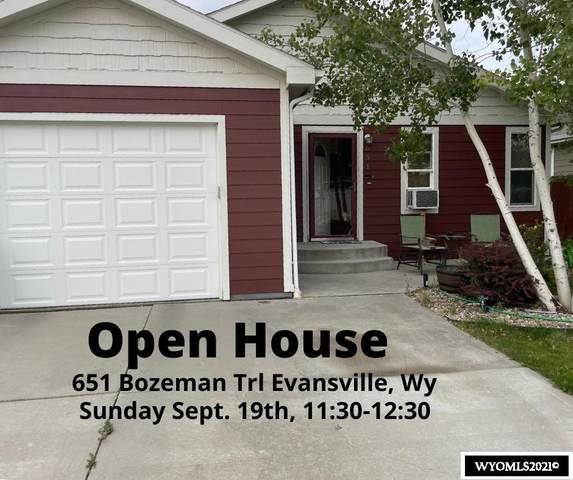 651 N Bozeman Trail, Evansville, WY 82636 (MLS #20215453) :: Lisa Burridge & Associates Real Estate