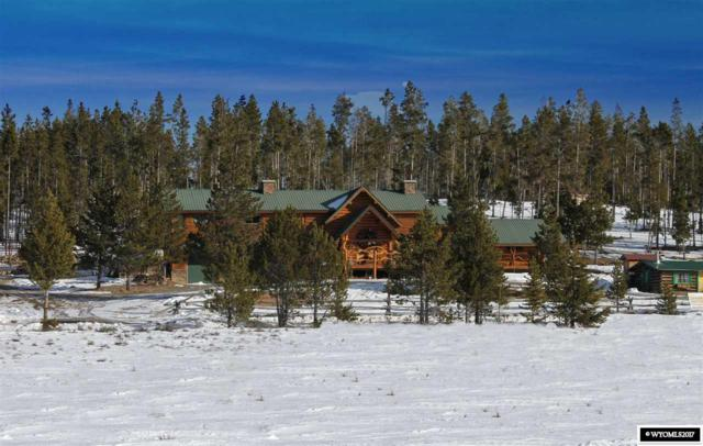 12 Spruce Rd., Dubois, WY 82513 (MLS #20174658) :: Real Estate Leaders