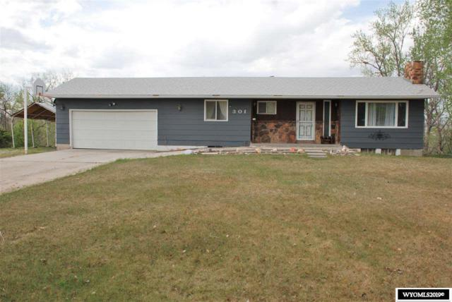 301 Hillcrest Drive, Worland, WY 82401 (MLS #20192519) :: RE/MAX The Group