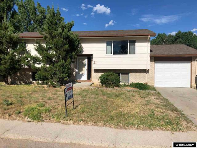 21 Lilac Street, Casper, WY 82604 (MLS #20194238) :: Lisa Burridge & Associates Real Estate