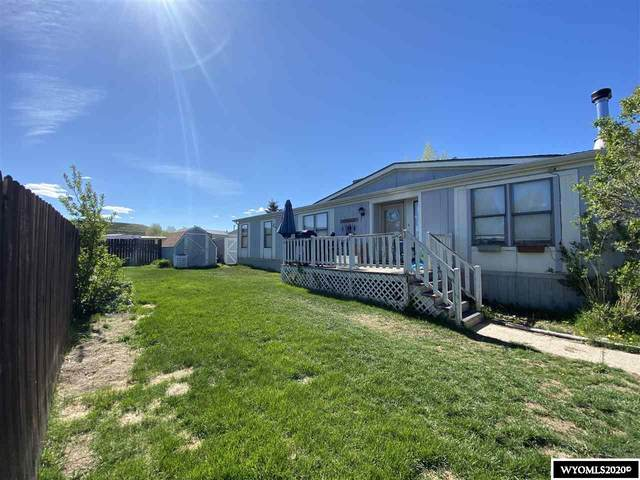50 Hillcrest Avenue, Diamondville, WY 83116 (MLS #20201102) :: RE/MAX The Group