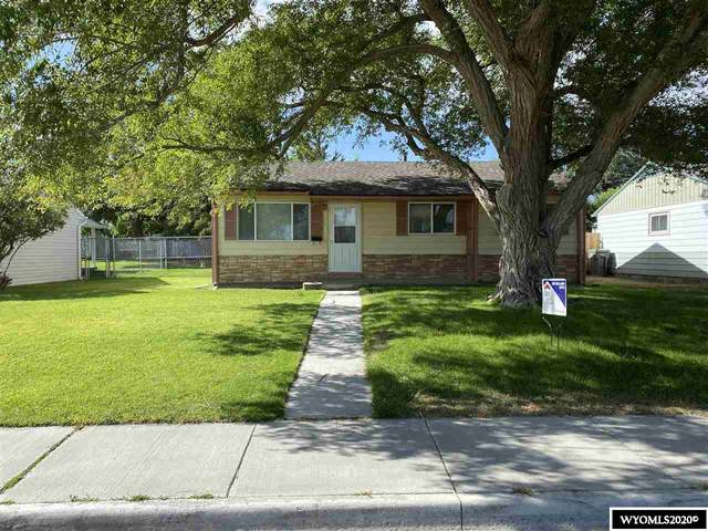 218 E State Street, Rawlins, WY 82301 (MLS #20202285) :: Real Estate Leaders