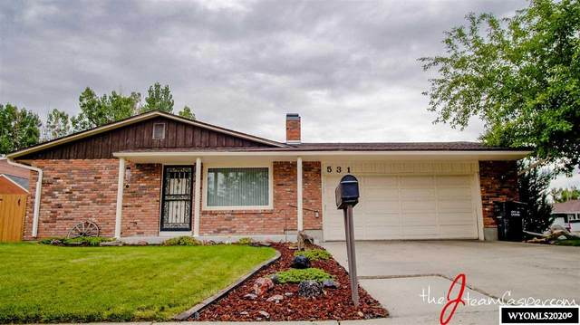 531 Thelma, Casper, WY 82609 (MLS #20204174) :: RE/MAX The Group