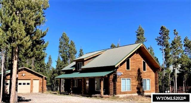 24 Crooked Creek Road, Dubois, WY 82513 (MLS #20215137) :: RE/MAX Horizon Realty