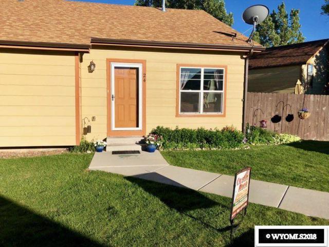 700 Shoshone #24, Green River, WY 82935 (MLS #20180479) :: Lisa Burridge & Associates Real Estate