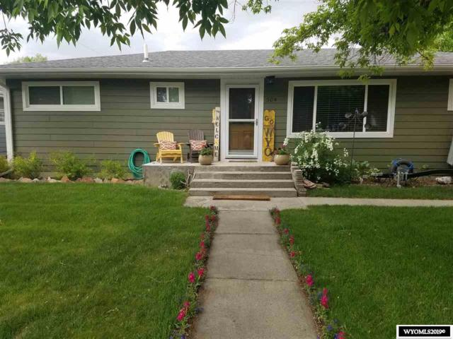 504 S 17th, Worland, WY 82401 (MLS #20192872) :: Real Estate Leaders