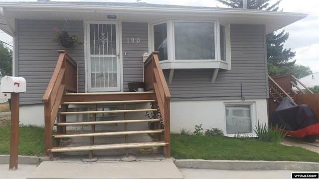190 N 6th West Street, Green River, WY 82935 (MLS #20205935) :: Broker One Real Estate