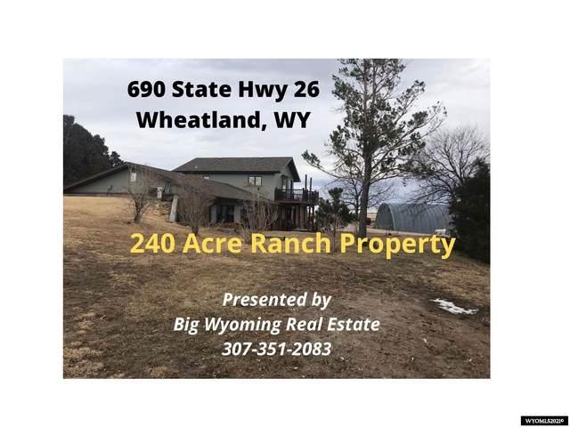 690 State Hwy 26, Wheatland, WY 82201 (MLS #20210203) :: Lisa Burridge & Associates Real Estate