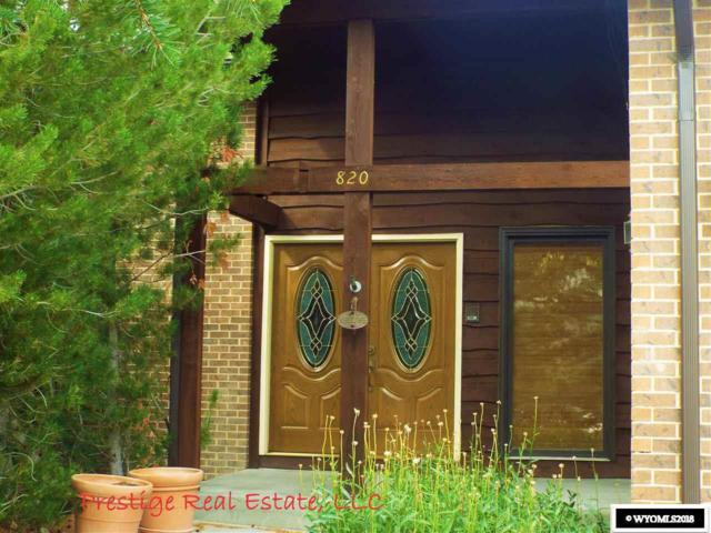 820 Lake Road, Casper, WY 82604 (MLS #20185369) :: Real Estate Leaders