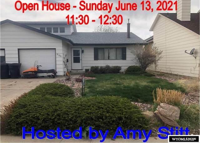 2120 Frances Street, Casper, WY 82601 (MLS #20212344) :: Broker One Real Estate