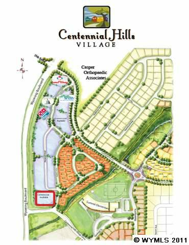 Lot 3 Centennial Hills Village Business Park, Casper, WY 82609 (MLS #20113700) :: Lisa Burridge & Associates Real Estate