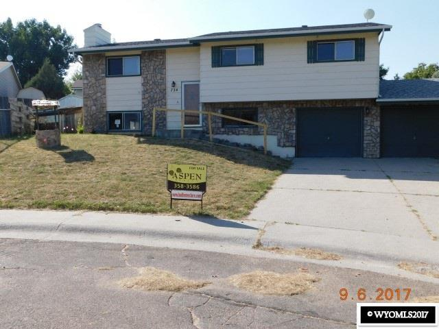 734 Powder  River Court, Douglas, WY 82633 (MLS #20175614) :: RE/MAX The Group