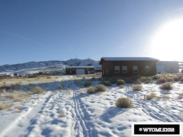 19 Industrial Site, Pinedale, WY 82941 (MLS #20181227) :: Real Estate Leaders