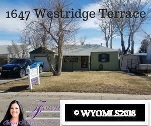 1647 Westridge Terrace, Casper, WY 82604 (MLS #20181307) :: Lisa Burridge & Associates Real Estate
