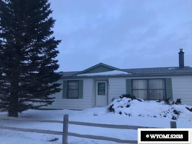 815 Maple Street, Medicine Bow, WY 82329 (MLS #20181817) :: Real Estate Leaders
