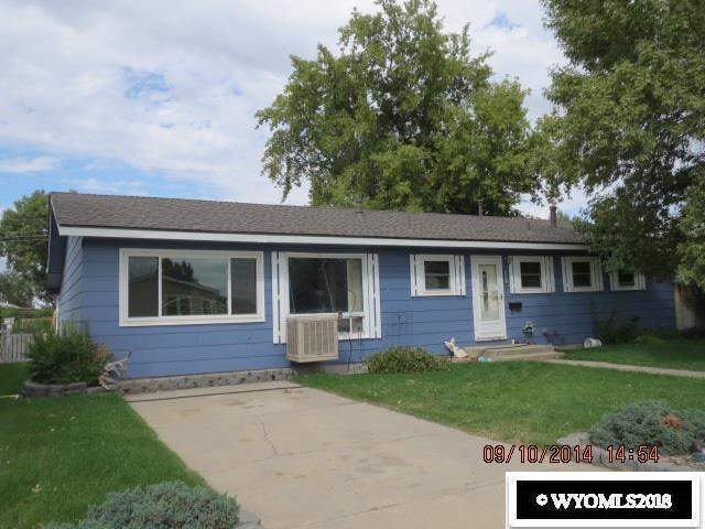 309 Thomas Avenue, Worland, WY 82401 (MLS #20181841) :: Lisa Burridge & Associates Real Estate