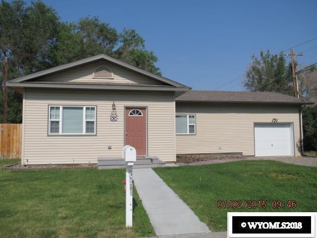 212 N 13th Street, Worland, WY 82401 (MLS #20182248) :: Real Estate Leaders